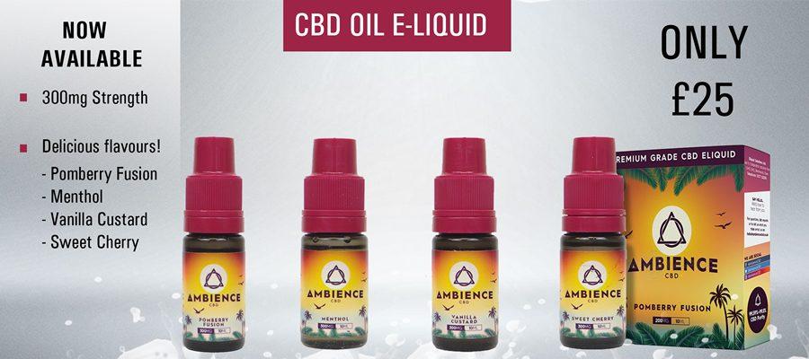 CBD vape liquid, image - Vaperz flavourss of Bedford
